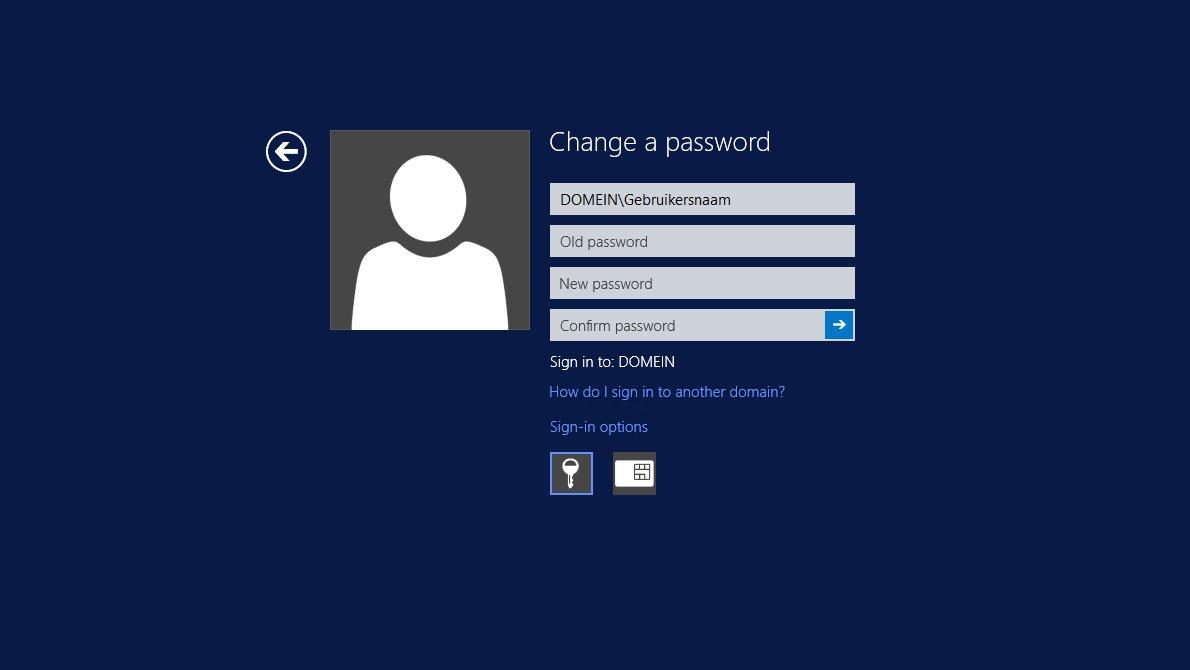 Handleiding Wachtwoord vergeten Remote Desktop